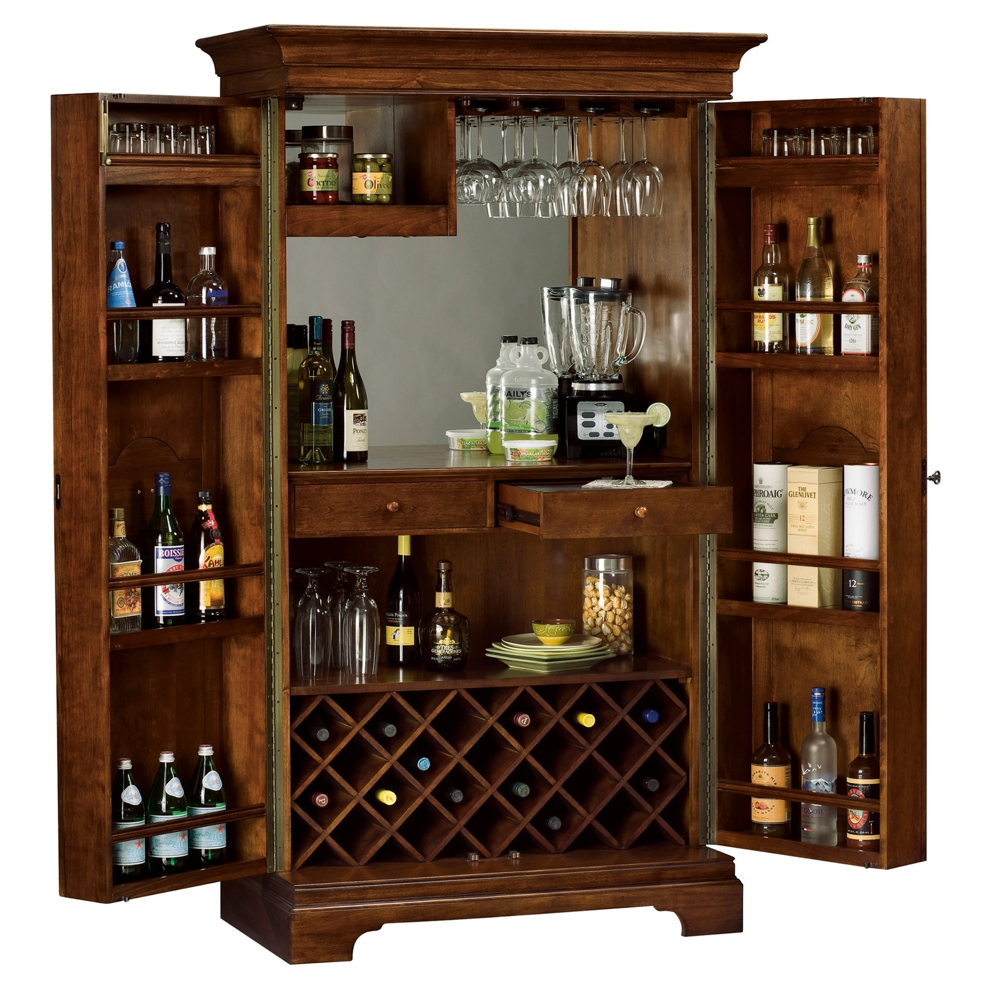 Genial Shop Howard Miller Barossa Valley Vintage, Elegant, And Chic Style, Foyer  Liquor Or Wine Cabinet, Occasional Storage Closet   Free Shipping Today ...