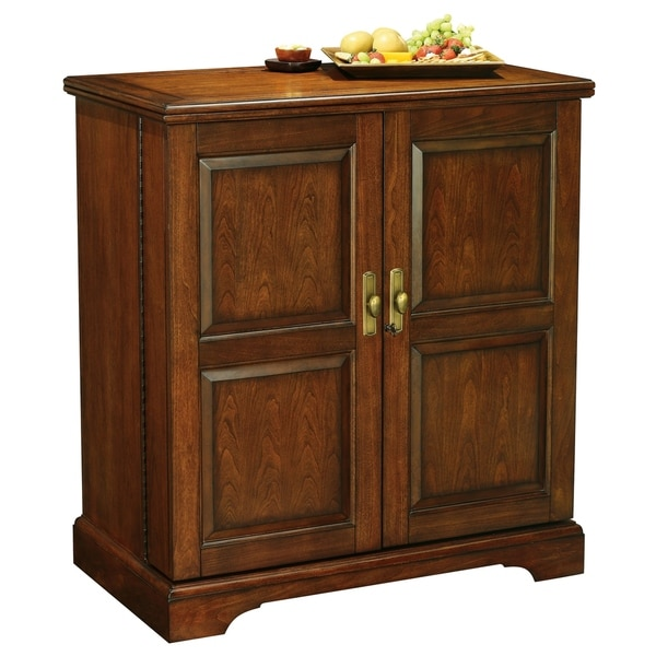 Shop Howard Miller Lodi Charming, Contemporary Vintage Style, Foyer Liquor or Wine Cabinet