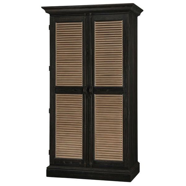 Shop Howard Miller Old Mission Vintage, Old Fashioned, Saloon Style, Foyer  Liquor Wine Cabinet, Tall Storage Wardrobe, Media Center   Free Shipping  Today ...