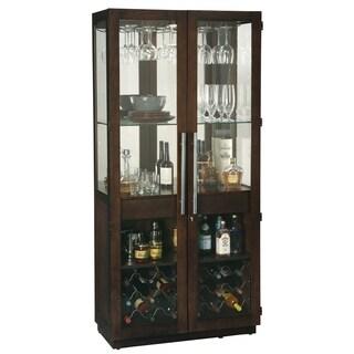 Howard Miller Chaperone III Modern, Sleek and Chic Style, Foyer Liquor or Wine Cabinet, Buffet Sideboard, or Media Cabinet