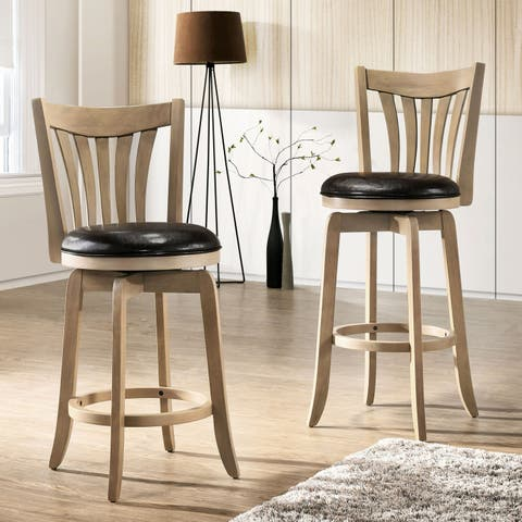 Crestside Swivel Bar Stool by FOA