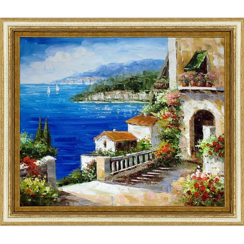 High Rise Bay' Hand Painted Oil Reproduction