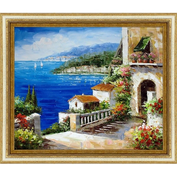 High Rise Bay' Hand Painted Oil Reproduction. Opens flyout.