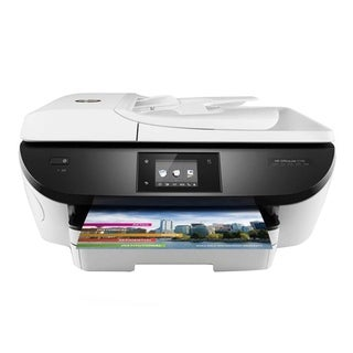 Refurbished HP 5740 All In One Office Jet Printer W/ Mobile Printing-WHITE