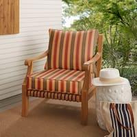 Sunbrella Indoor/ Outdoor Deep Seating Cushion and Pillow Set in Spectrum Cilantro (As Is Item)