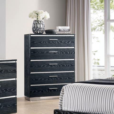 Carbon Loft Champs Modern 5-drawer Chest