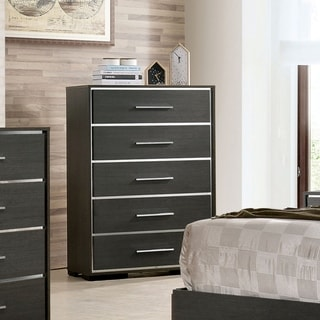 Copper Grove Kastela Contemporary Warm Grey 5-drawer Chest