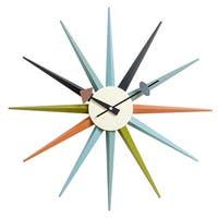 MLF Nelson Sunburst Clock