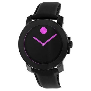 Movado 3600482 Women's Bold Black Quartz Watch