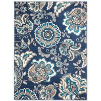 Tremont Gray Chevron Area Rug by Home Dynamix - N/A