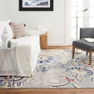Tremont Gray Chevron Area Rug by Home Dynamix - Big