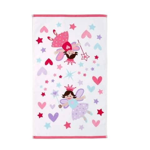 Dream Factory Magical Princess Cotton Hand Towel - 16W x 26L