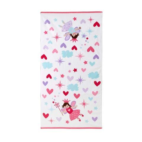 Dream Factory Magical Princess Cotton Bath Towel - 20Wx50L