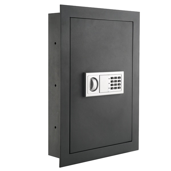 Paragon Flat Electronic Wall Safe For Jewelry Security