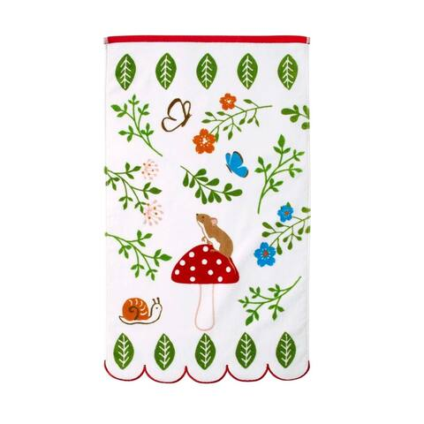 Dream Factory Woodland Friends Hand Towel - 16 x 26