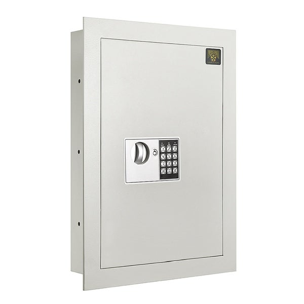 Paragon Flat Electronic Wall Safe .83 CF for Large Jewelry Security