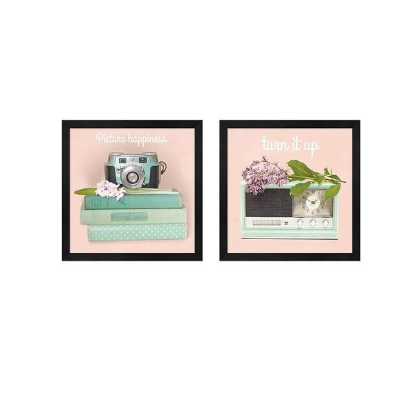 Sue Schlabach U0026#x27;Love Office No Polka Dotsu0026#x27; Framed Art