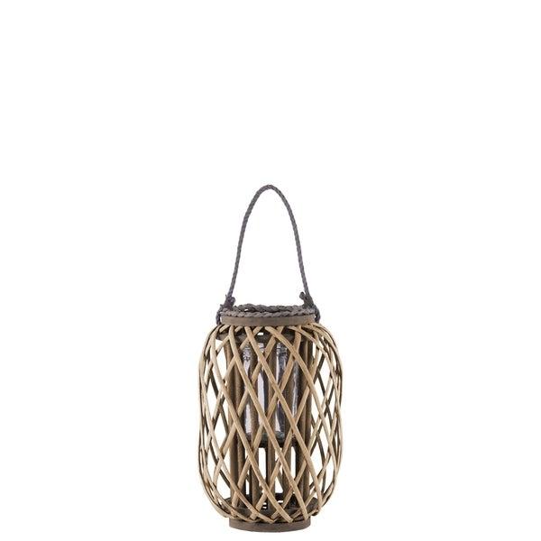 UTC55039 Bamboo Lantern Natural Finish Brown