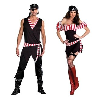 Couple's Pirate Halloween Costume