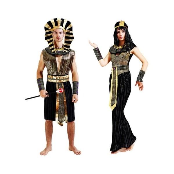 Lovely Coupleu0026#x27;s Egyptian Costume Cleopatra Pharaoh