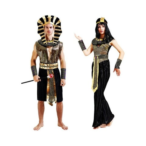 Couple's Egyptian Costume Cleopatra Pharaoh