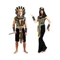 Couple's Egyptian Costume Cleopatra Pharaoh