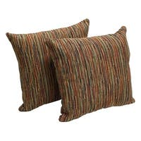 Joseph's Robe 17-inch Chenille Accent Throw Pillow (Set of 2)