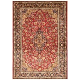 Handmade Isfahan Wool Rug (Iran) - 8'4 x 12'