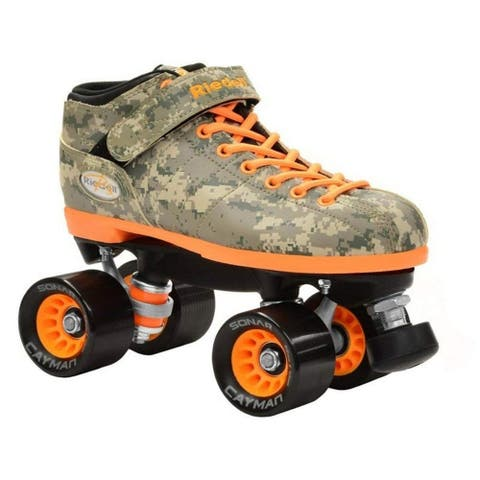 Riedell R3 Camo Speed Roller Skates 2015
