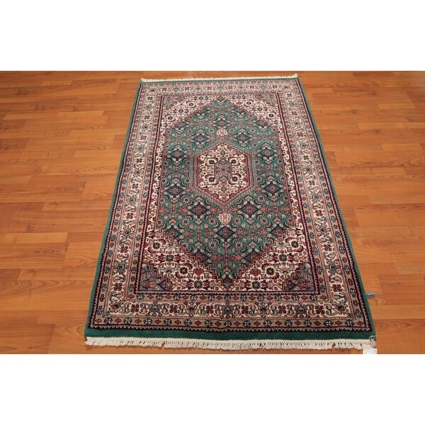 Fine Round Persian Bidjar Area Rug Hand Knotted Wool And: Shop Super Fine Indian Bidjar Hand-Knotted Persian Area