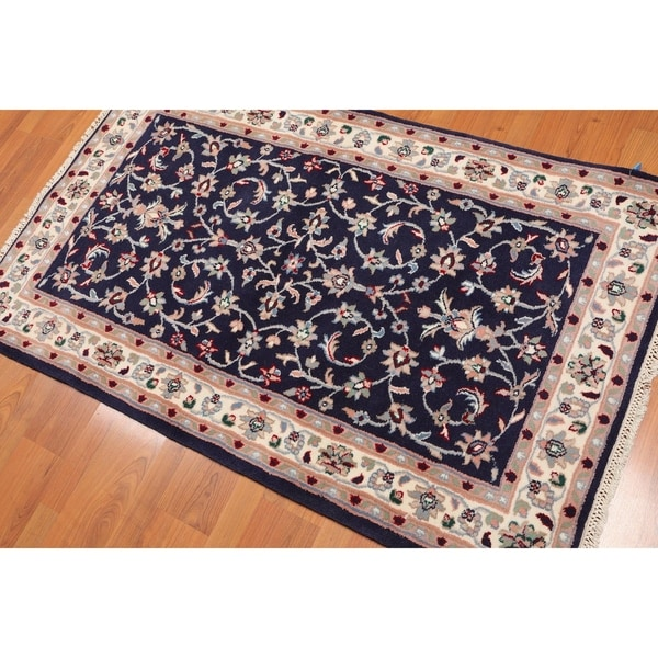 Shop Ecarpetgallery Hand Knotted Persian Kashan Red Wool: Shop Romanian Kashan Hand-Knotted Wool Persian Area Rug (3
