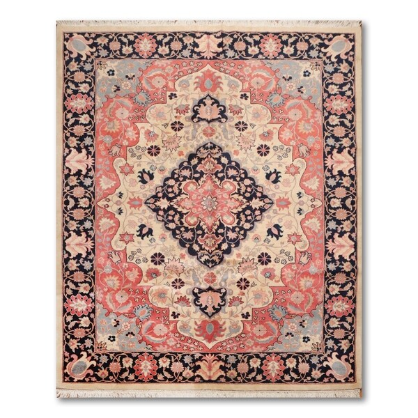 Hand Knotted Persian Tabriz Wool Area Rug Ebth: Shop Master Quality Tabriz Hand-Knotted Wool Persian Area