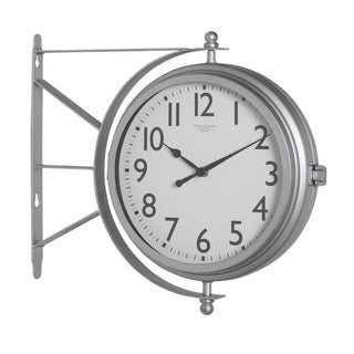 Link to Studio Designs Home Metro Station Dual Faced Wall Clock Similar Items in Decorative Accessories