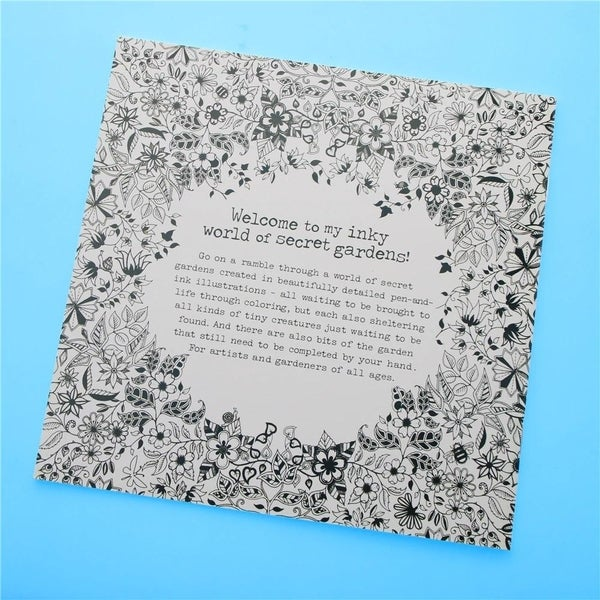 - Shop F.S.D Secret Garden Coloring Book - Overstock - 23443340