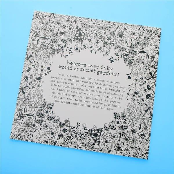 Shop F.S.D Secret Garden Coloring Book - On Sale - Free ...