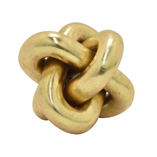 Three Hands Knot Tabletop - Gold