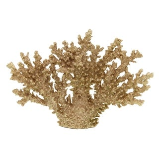 """Three Hands 9.5 """" Gold - CORAL TABELTOP"""