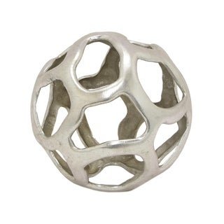"Three Hands 6.5 "" Silver - ORB TABLETOP DECORATION"