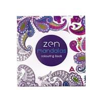 F.S.D Zen Mandalas Coloring Book