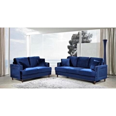 Aadi 2 Piece Living Room Set
