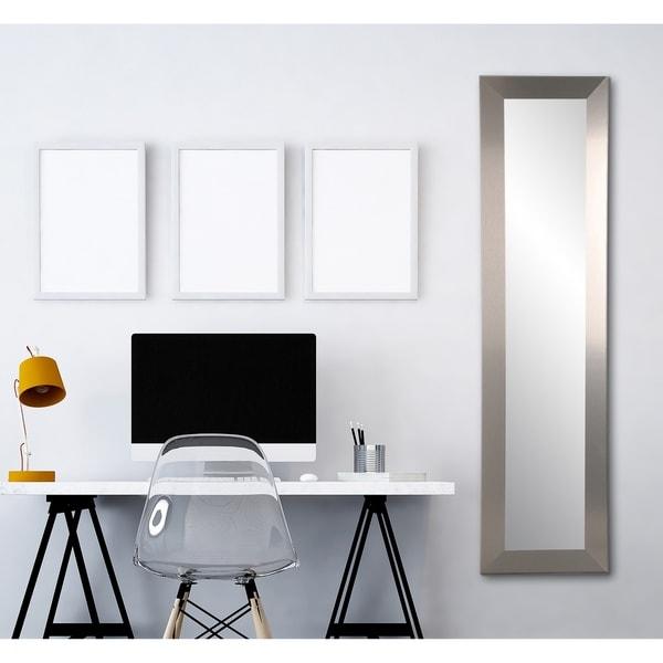 Industrial Floor Mirror: Shop Industrial Modern Slim Floor Mirror