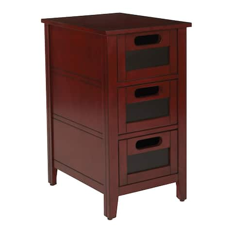 Copper Grove Molleres Chalkboard Side Table