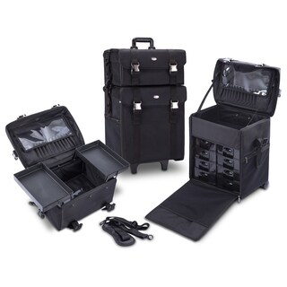 MUA LIMITED 2-in-1 Makeup Artist Case on Wheels with Removable Drawers