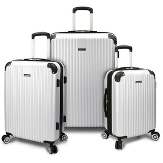 Traveler's Choice Charvi 3pc Expandable Hardside Spinner Luggage Set
