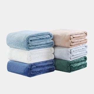 Springmaid Hampton Extra Soft Plush Bed Blanket
