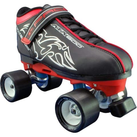 Pacer ATA-600 Quad Speed Roller Skates with Black Wheels