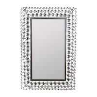 Essential Decor & Beyond Silvertone Metal Rectangular Wall Accent Mirror