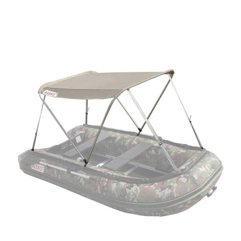 ALEKO Summer Canopy Wheat Tent for 8.4 ft Inflatable Boats