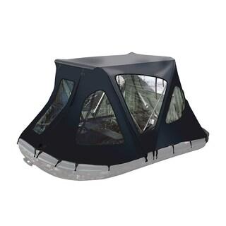 ALEKO Waterproof Winter Black Tent for 10.5 ft Inflatable Boat