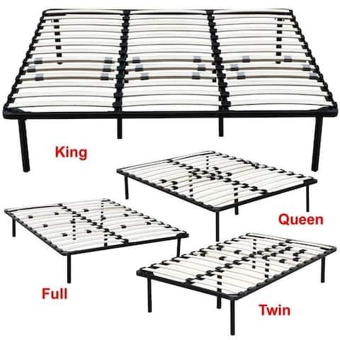 Porch & Den Troon Metal and Wood Platform Bed Frame